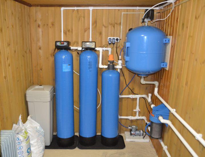 Комплексные системы очистки воды из скважины